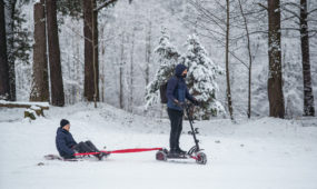 Žiemos pramogos karantino metu