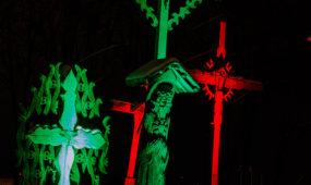 Sausio 13-osios proga Kauno objektai nušvito trispalvėmis
