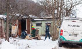 Policija aiškinasi mirties aplinkybes Panerių gatvėje