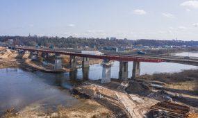 Kleboniškio tilto statybos