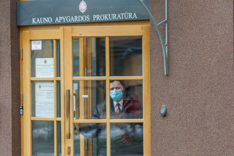 Spaudos konferencija dėl R. Stonio sulaikymo