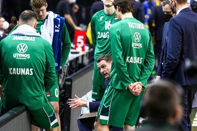"""Kauno """"Žalgiris"""" -  Tel Avivo """"Maccabi"""""""