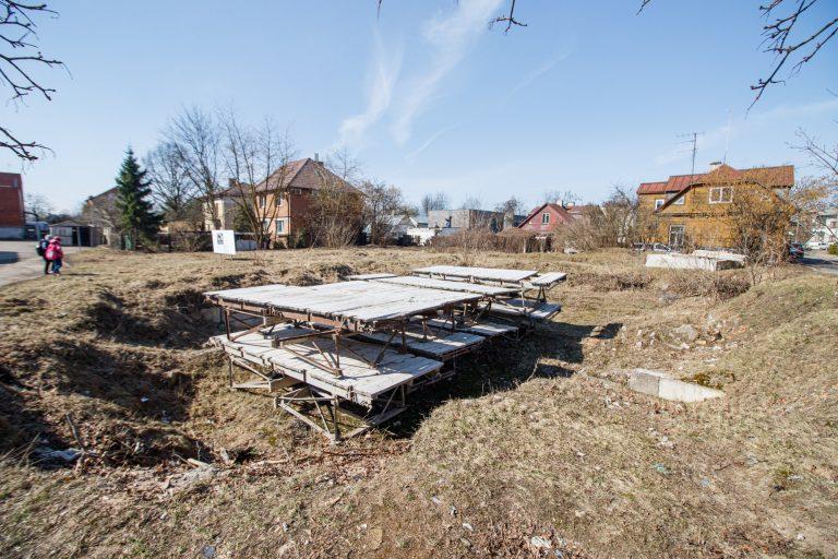 Planuojamas statyti daugiabutis Žaliakalnyje