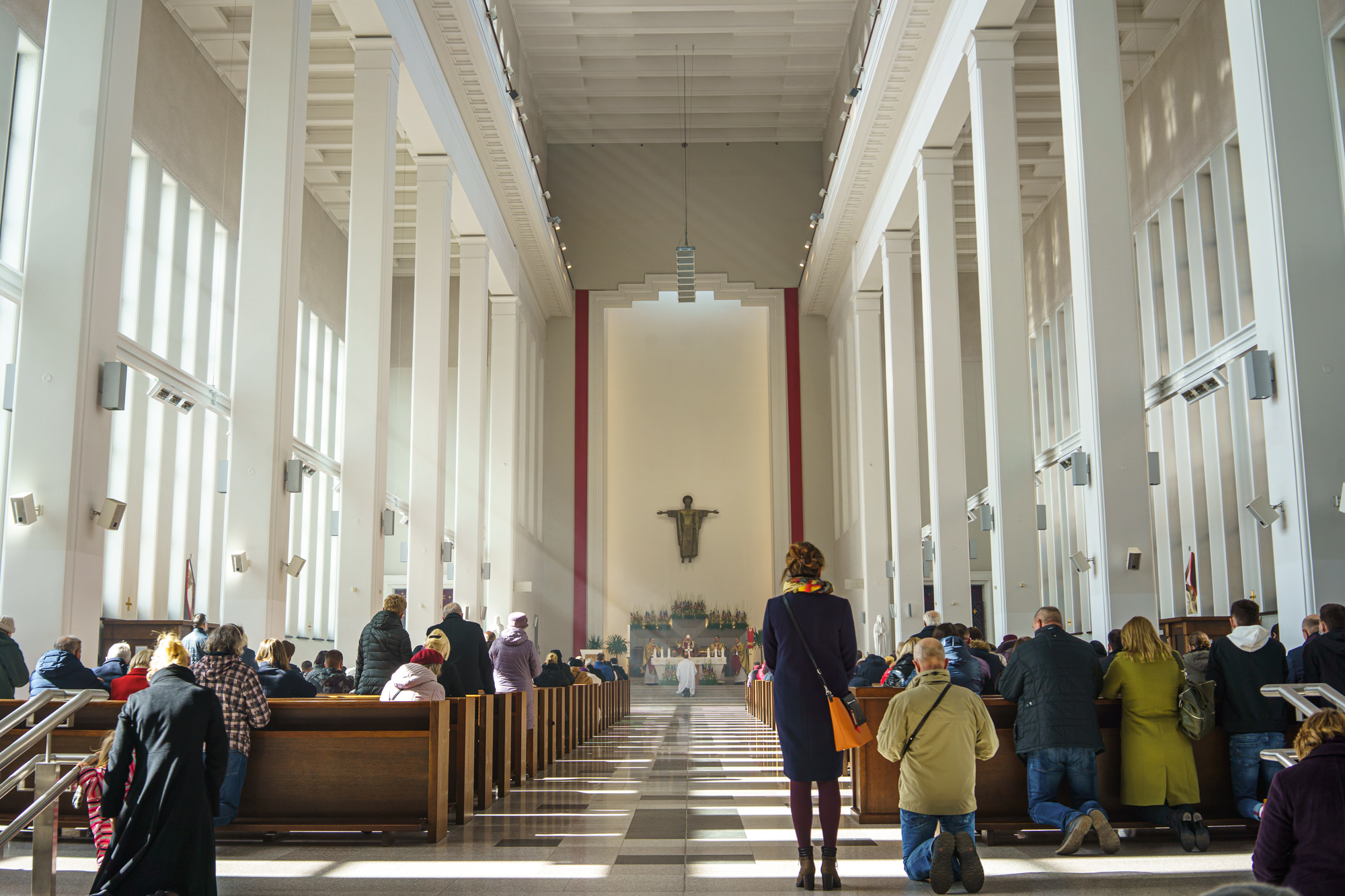 Velykų pamaldos bažnyčioje