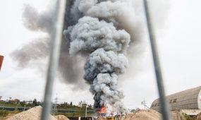 Petrašiūnų gaisras