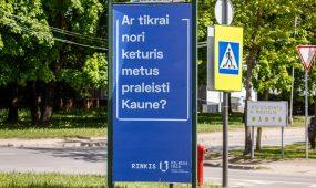 VGTU reklama Kaune