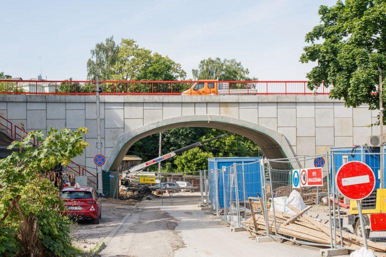 Viadukas R. Kalpoko gatvėje