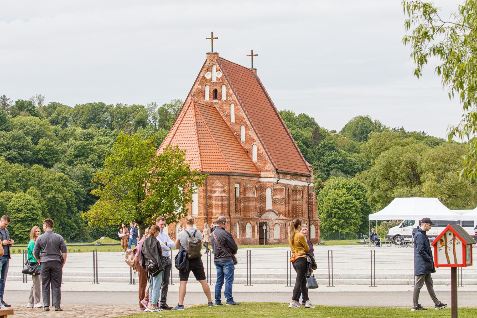 Masinis žmonių vakcinavimas Kauno rajone