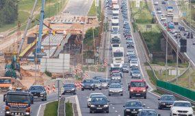 Intensyvus eismas A1 kelyje