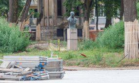 Nebaigti remonto darbai Kauno gatvėse
